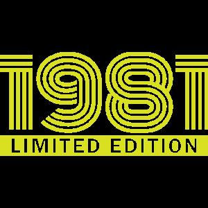 Limited edition Geschenk Geburtstag Lustig