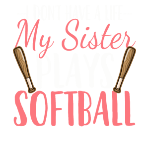 Softball-Schwester Softball-Spielerin