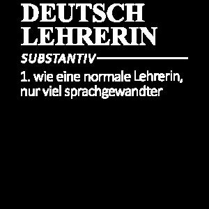 Deutsch Lehrerin Lehrerin Definition Geschenk
