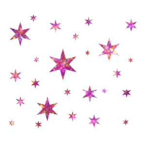 Glitzer Sterne