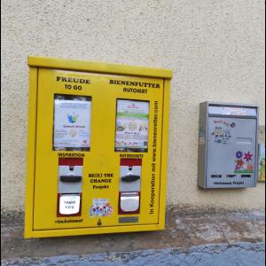 Tinautomat - To go Inspiration Naturschutz Automat
