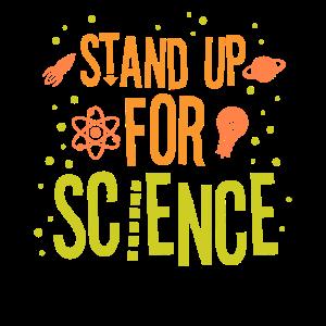 Stand Up For Science Wissenschaftler Wissenschaft