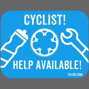 Cyclist help available!