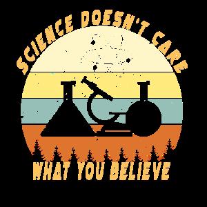 Der Wissenschaft ist es egal, was Du glaubst