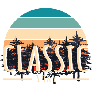 Classic 1981 Behind The Trees Design Anniversary