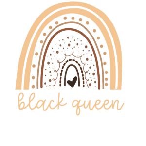 Black Pride Girl Queen Rainbow