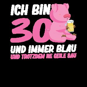 30. Geburtstag Geburtstagsparty Schwein Geschenk