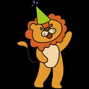 Löwe Geburtstag Feier