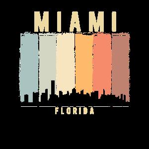 Miami Skyline Florida USA