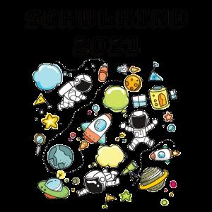 Schulkind 2021 Geschenk Weltraum Einschulung