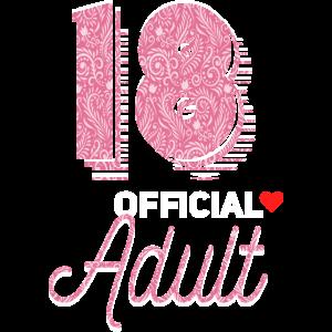 18 Jährige Shirt