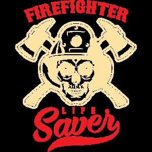 Feuerwehrmann, Lebensretter
