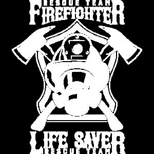 Feuerwehrmann Lebensretter