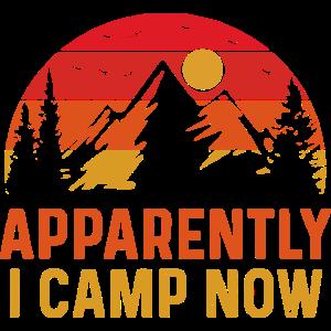 Anscheinend campe ich jetzt