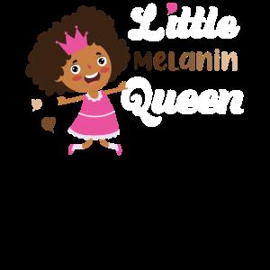 Black Pride Little Melanin Queen