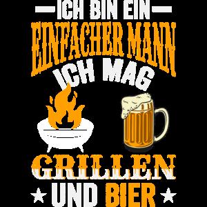 Grillen und Bier Grill BBQ