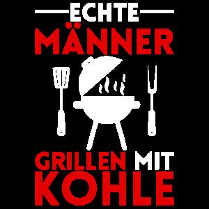 Grillen mit Kohle Grill BBQ