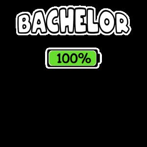 Bachelor Studium 100% Abschluss Student