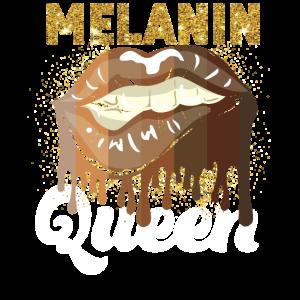 Black Pride Melanin Queen Lips
