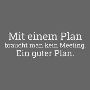 Ein Plan