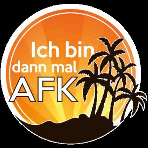 Ich bin AFK Gaming Spruch / Away from keyboard