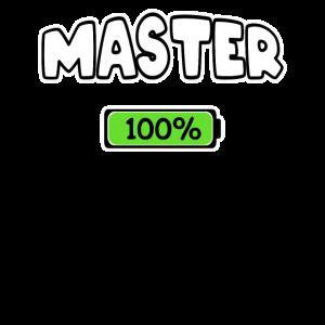 Master Master 100% Abschluss Studium