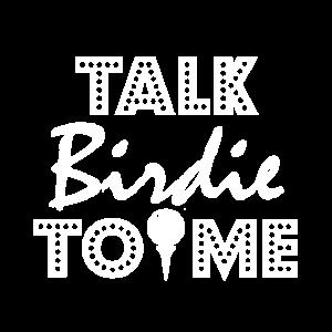 Golfspieler: Talk Birdie mit mir