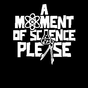 Ein Moment Von Wissenschaft Bitte Wissenschaftler