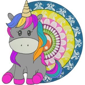 Unicorno Mandala