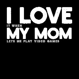 Videospiel Mama Gamer