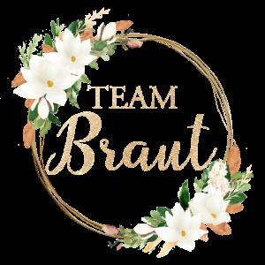 Kranz Team Braut personalisierbar