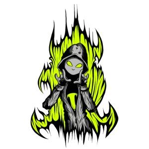 KRASS mit Flamme