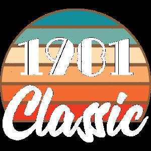 Anniversary Birthday 1981 Classic Colors Design