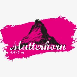 Matterhorn - Matterhorn in pink