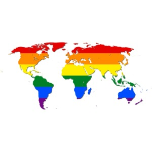 RAINBOW WORLD - LOVE Is LOVE - GAYPRIDE