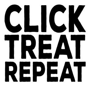 clicktreatrepeat zwart