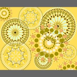 Fleur Hippie jaune