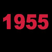 Geburtstag Jahrgang-Shirt 1955