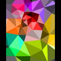 Bunte Dreiecke
