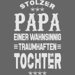 Stolzer Papa einer Tochter