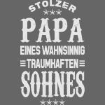 Stolzer Papa eines Sohnes