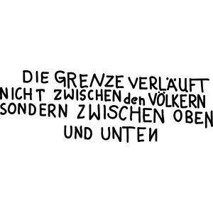 Graffiti: Oben und Unten