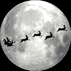 full moon xmas vollmond