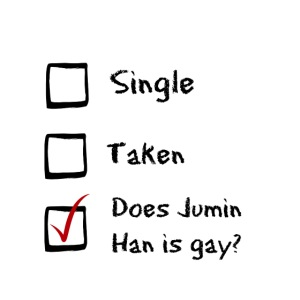 does jumin han is gay