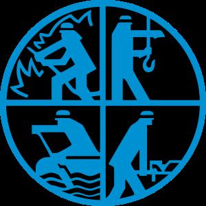 Logo Feuerwehr 2farbig