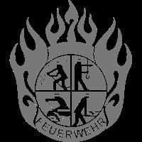 Flamme Feuerwehr Logo modern (für Reflexdruck)