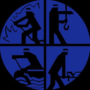 Logo Feuerwehr 1farbig