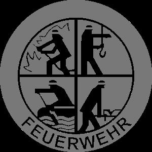 Feuerwehr Logo einfarbig (für Reflexdruck)