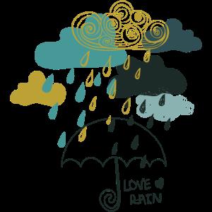 ich liebe Regen