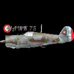 Hawk 75 cap design 2